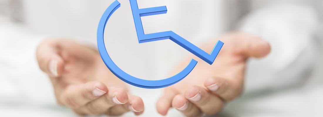 illustration A disability-friendly employer